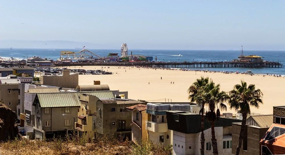 Ficar hospedado na região de Santa Mônica em Los Angeles