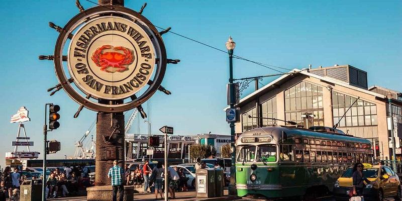 Região de Fisherman's Wharf em San Francisco