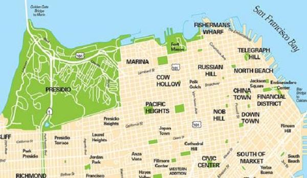 Regiões de San Francisco