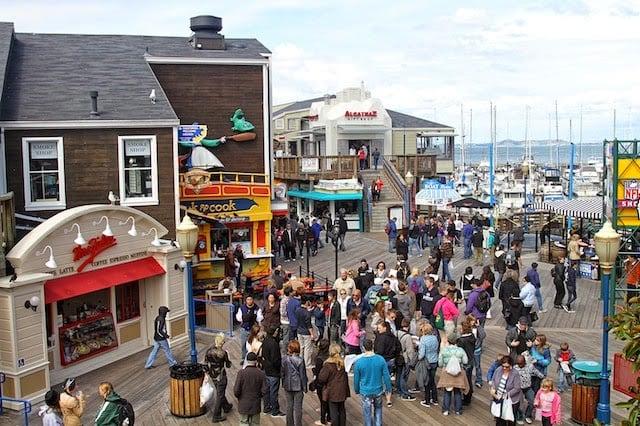 Visite o Pier 39 em San Francisco