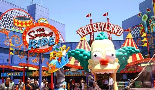 Parques de diversões em Los Angeles