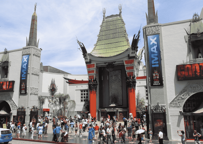 Teatro Chinês e Highland Shopping Hollywood em Los Angeles