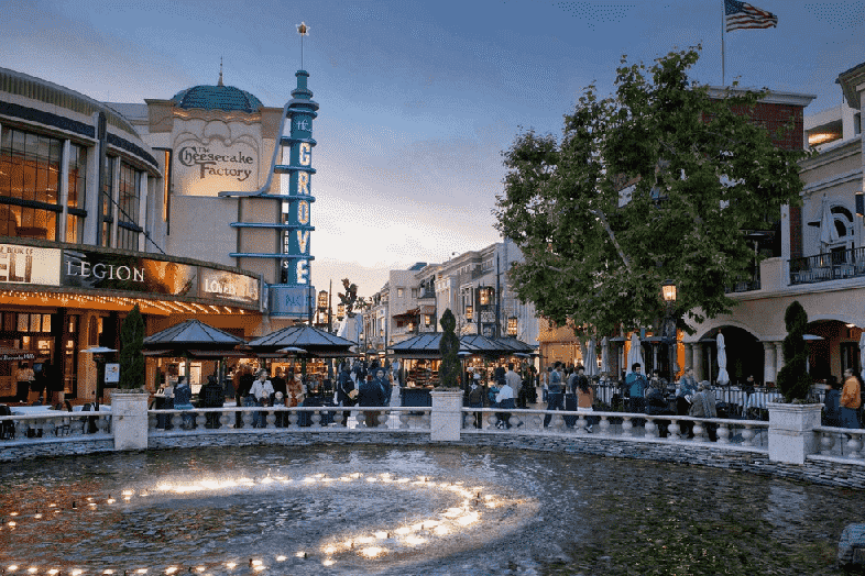 Shopping The Grove em Los Angeles