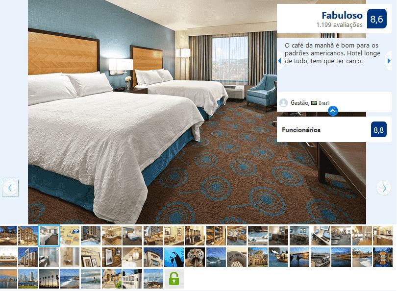 Hotel Hampton Inn San Diego Mission Valley para ficar em San Diego