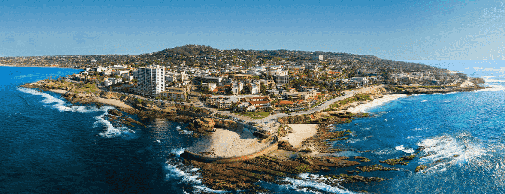 Região de La Jolla em San Diego