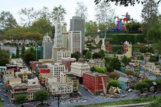 Atrações para os pequenos na Legoland Califórnia