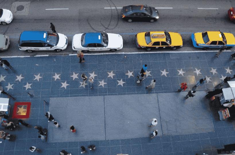 Calçada da Fama em Hollywood