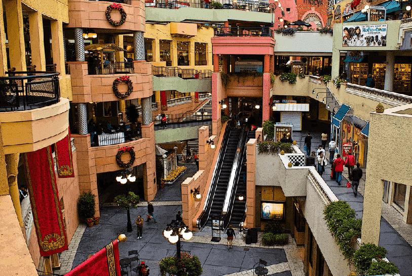 Shoppings em San Diego