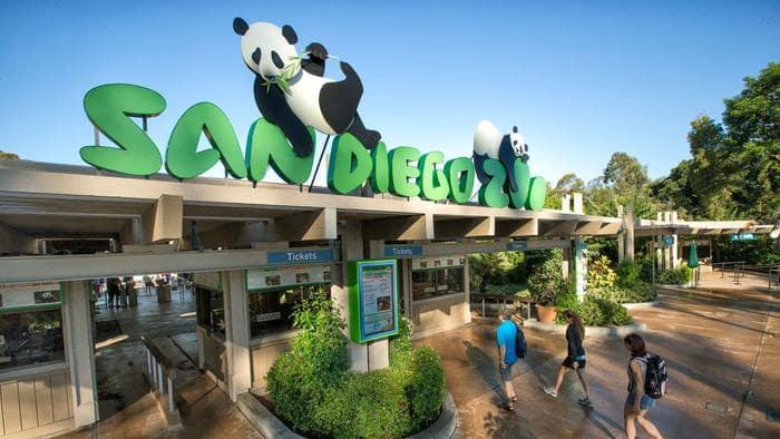 Informações sobre o San Diego Zoo em San Diego