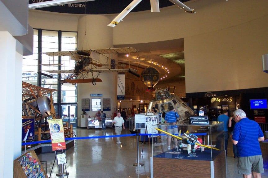 Estrutura do Museu San Diego Air Space em San Diego