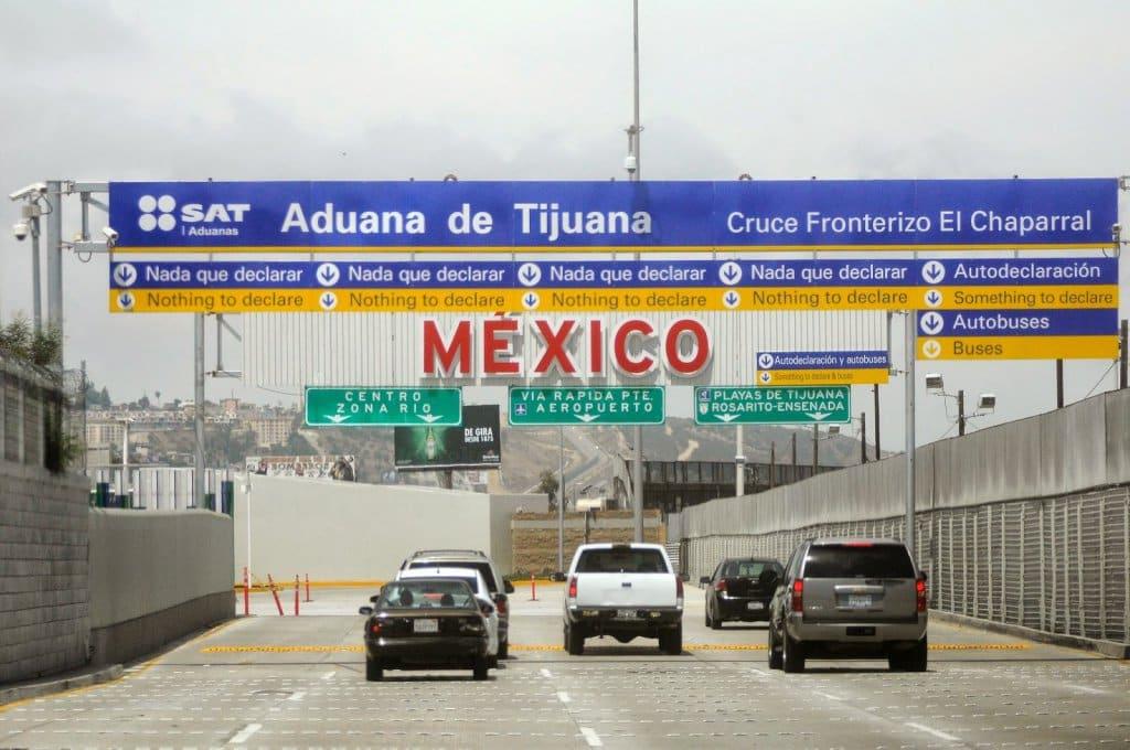Atravessar a fronteira dos EUA para Tijuana no México