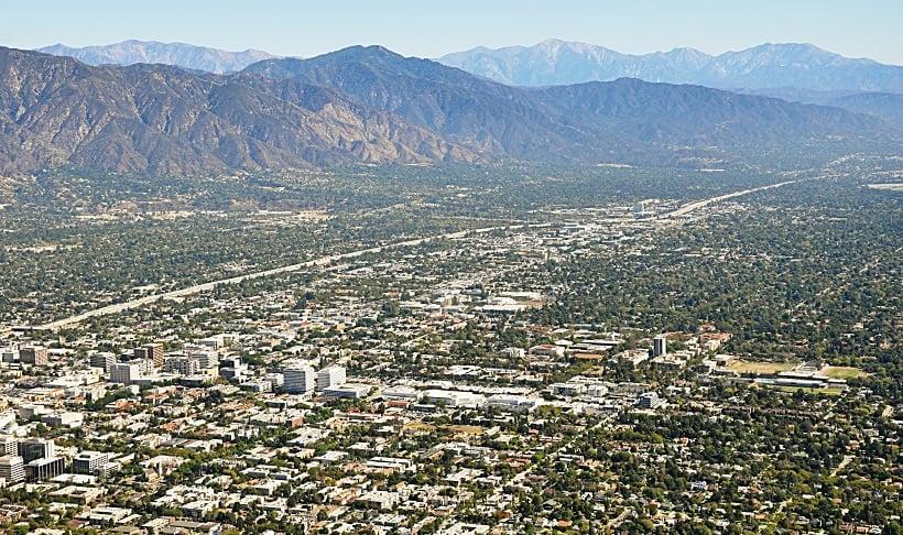 Cidade de Pasadena na Califórnia