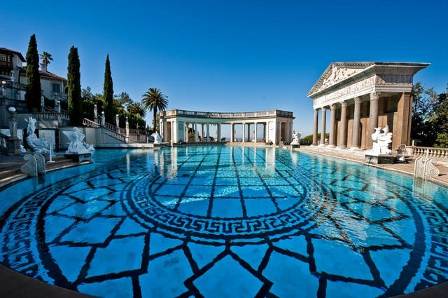 Hearst Castle na Califórnia