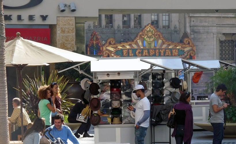 Informações sobre o Shopping Hollywood Highland Center em Los Angeles