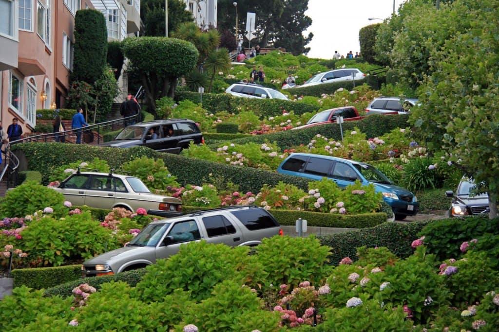 Aluguar um carro em San Francisco