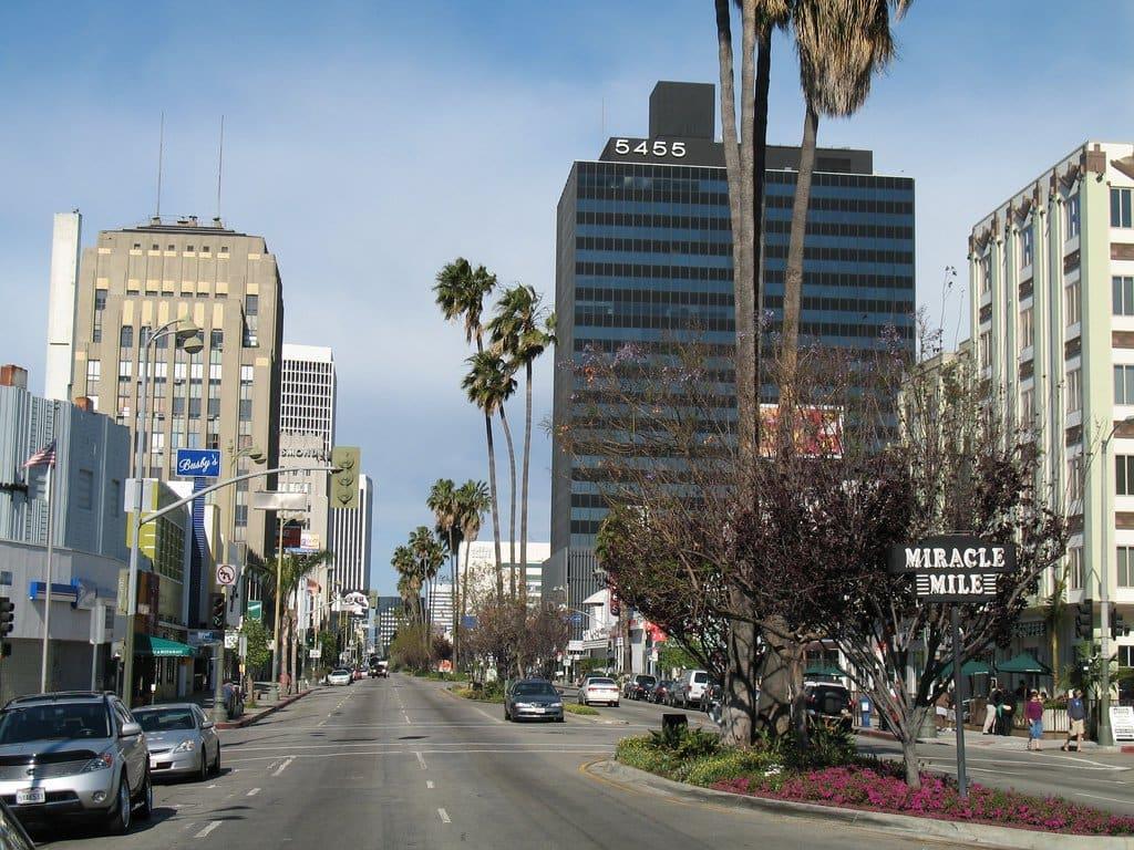 Miracle Mile em Los Angeles