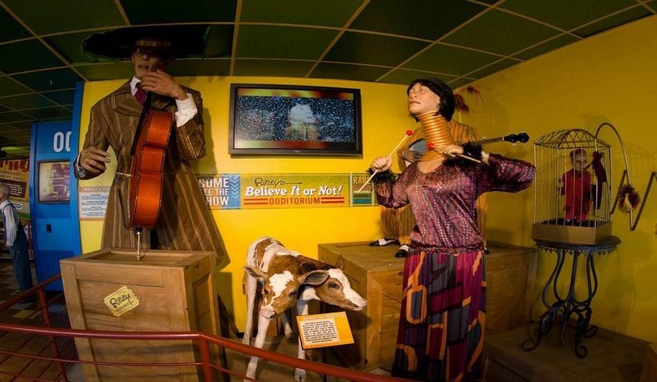 Atrações do Museu Ripley's Believe It or Not! em San Francisco
