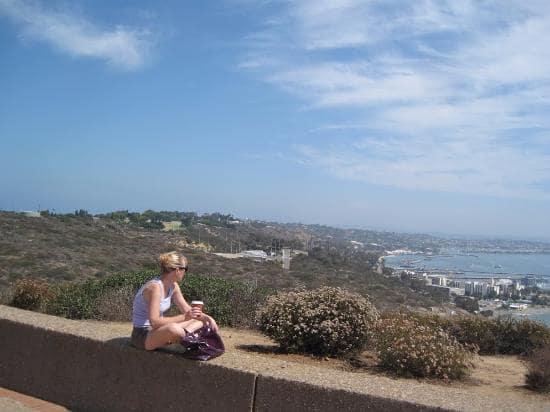 Informações sobre o Point Loma em San Diego