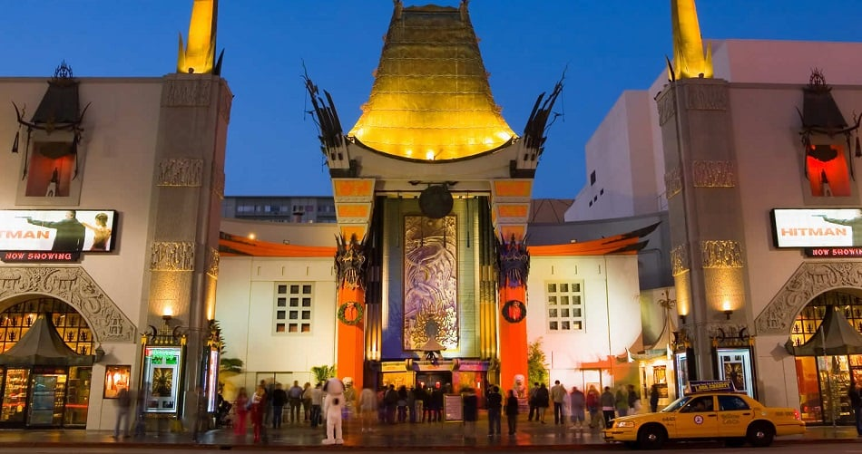 TCL Chinese Theatre em Los Angeles na Califórnia