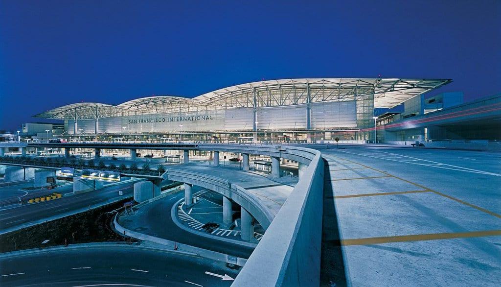 Serviços no Aeroporto Internacional de San Francisco