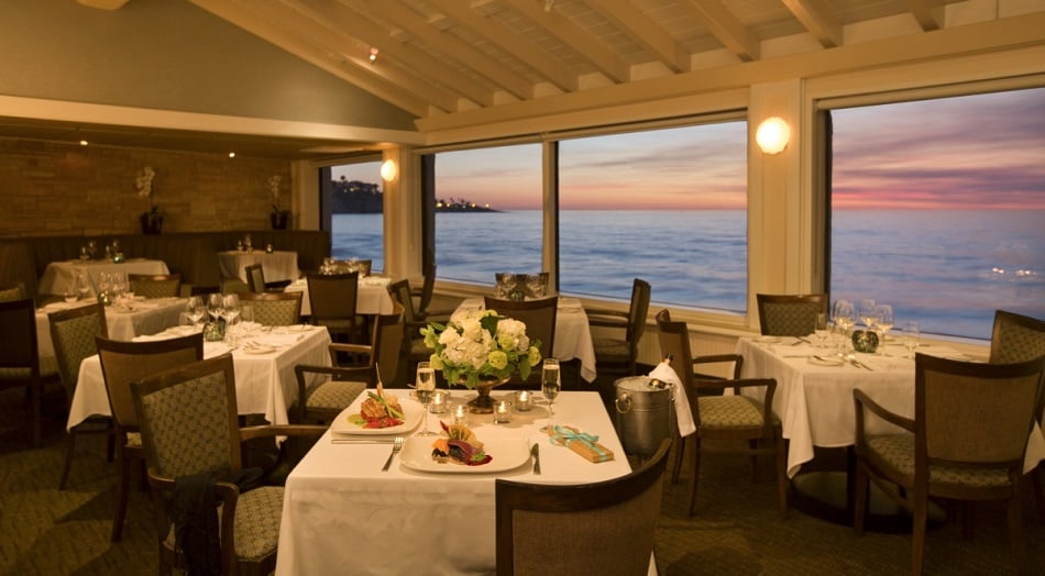 Restaurante The Marine Room em La Jolla