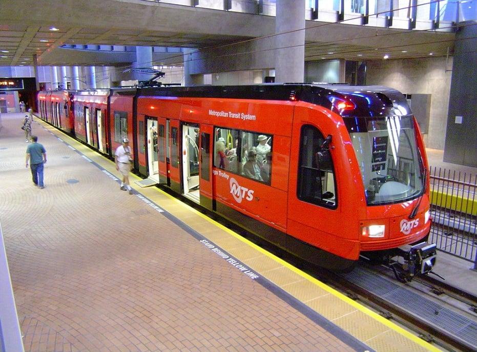 Trolley de San Diego