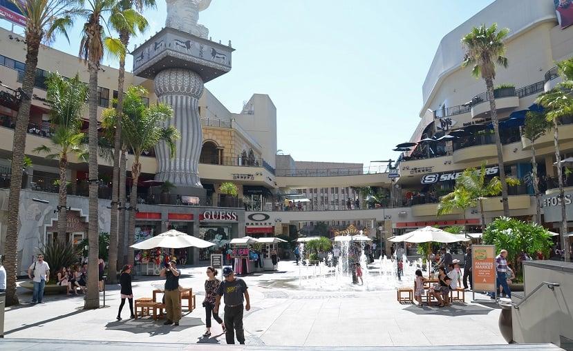 Shopping Hollywood Highland Center