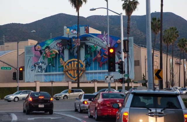 Visita ao Warner Bros em Los Angeles