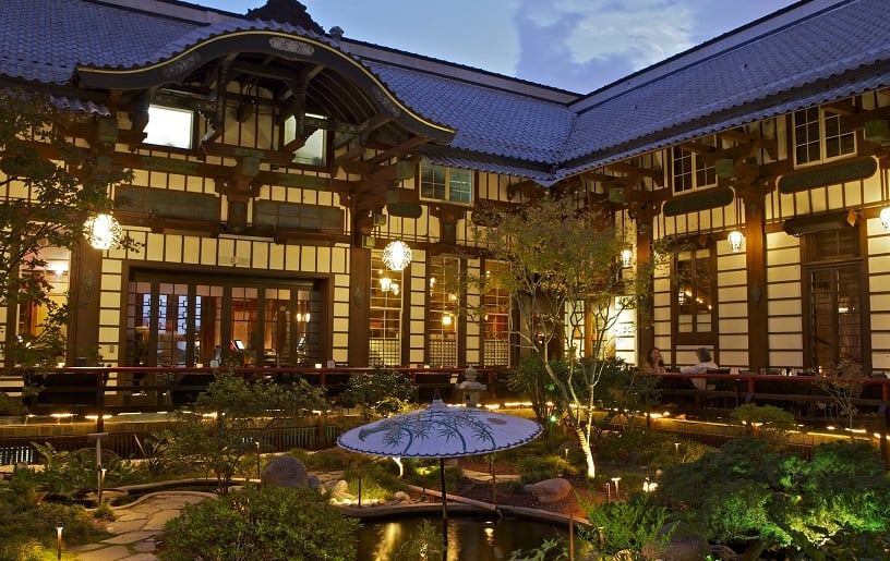 Restaurant Yamashiro Hollywood