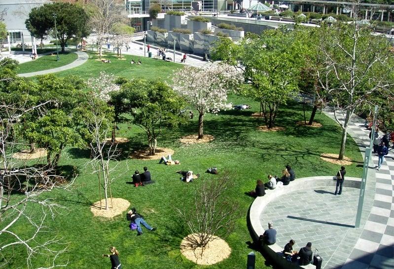 Yerba Buena Gardens em San Francisco
