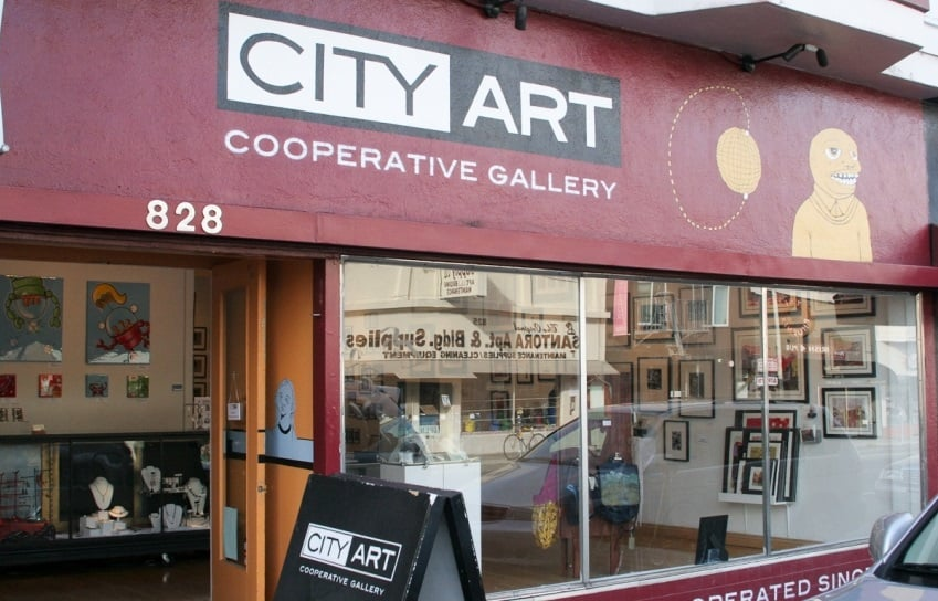 Curiosidades sobre a arte local do City Art Gallery em San Francisco