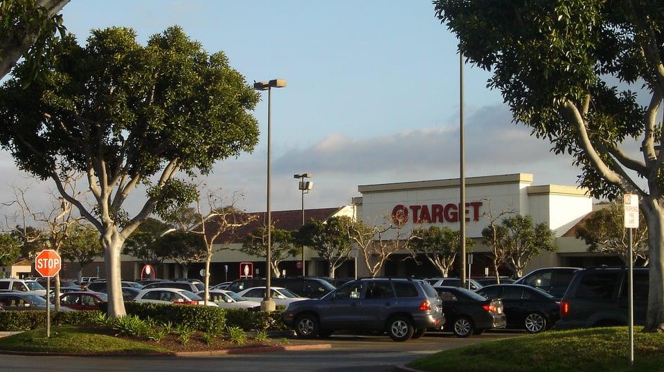 Loja de departamento Target em San Diego