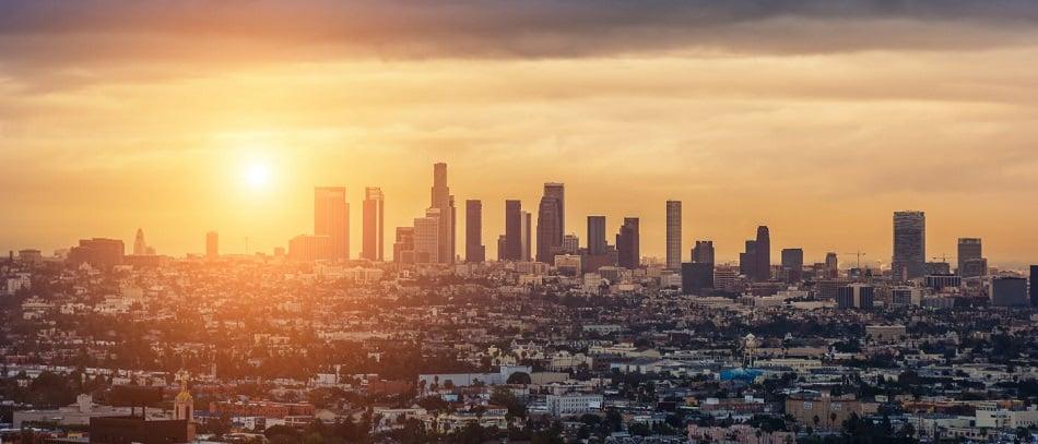 Capital do cinema e entretenimento na Califórnia