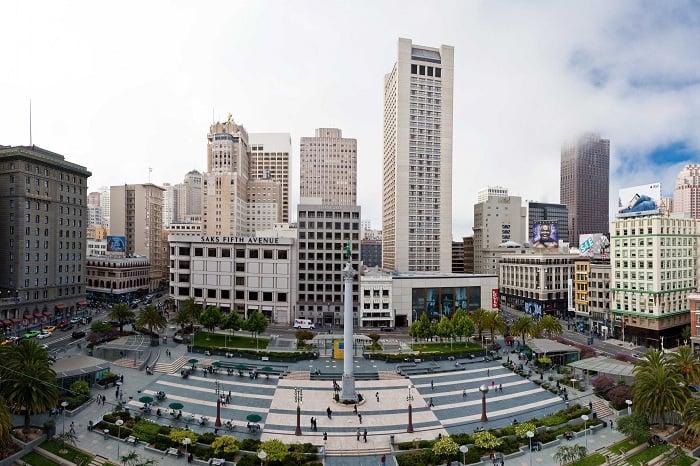 Informações da loja de departamento Macy's Union Square em San Francisco