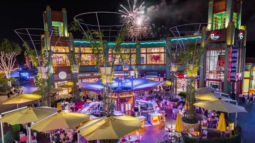 Informações sobre o Downtown Disney District na Califórnia