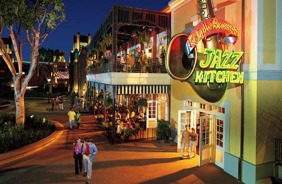 Lojas em Downtown Disney District na Califórnia