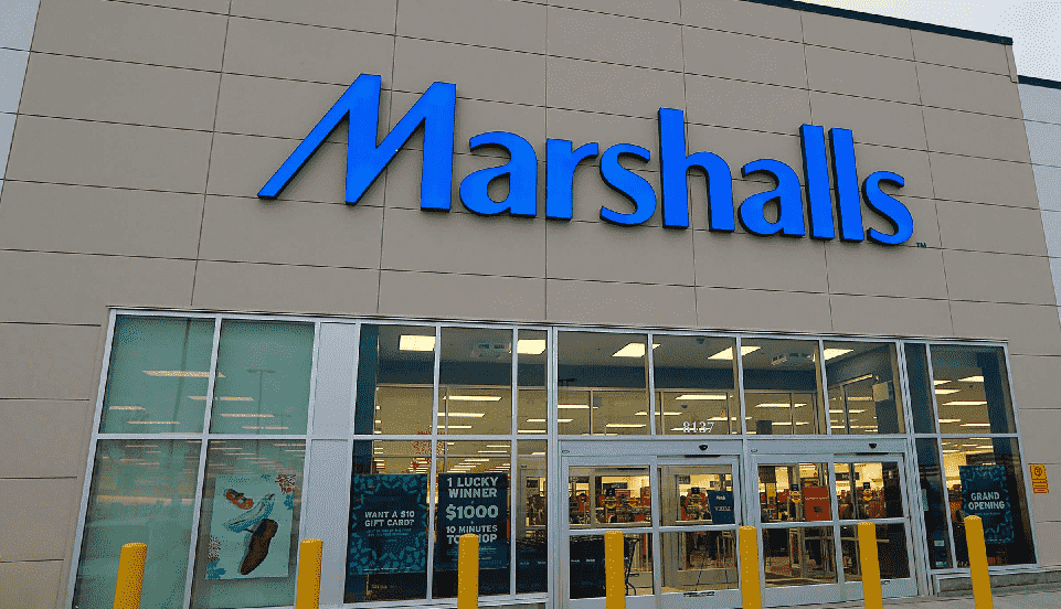 Loja de departamento Marshalls em San Diego