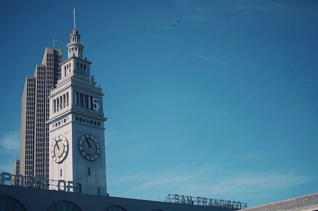 Torre no San Francisco Ferry Building