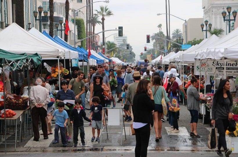 Informações sobre o Mercado Farmers em Los Angeles