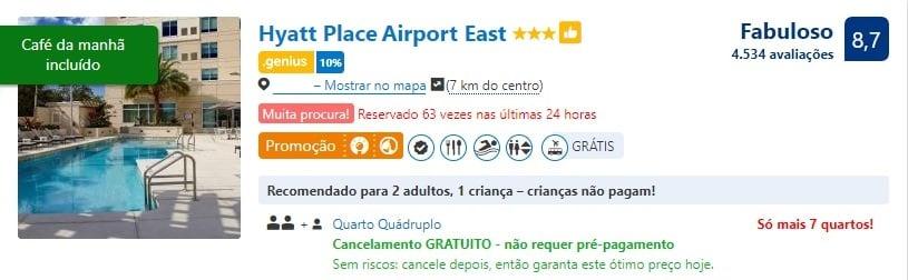 Cancelamento grátis hotéis booking