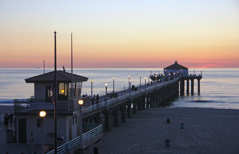 Manhattan Beach em Los Angeles