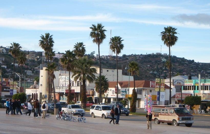 Turistas na Califórnia