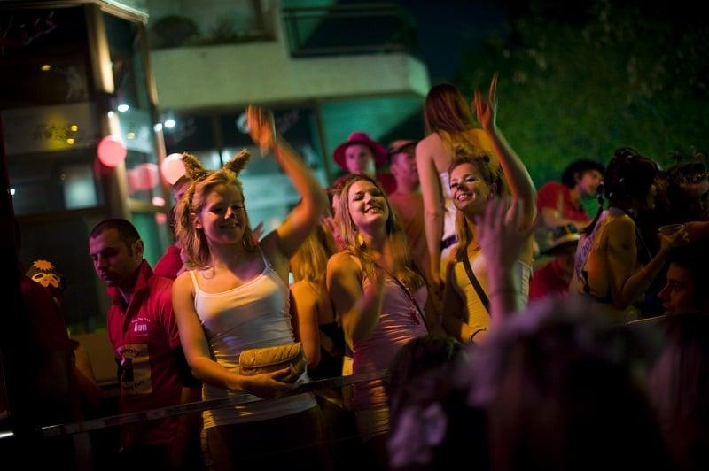 Noite em Hollywood em Los Angeles