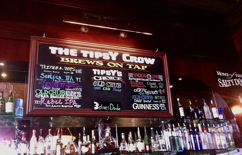 Bar The Tipsy Crow na região de Gaslamp Quarter em San Diego
