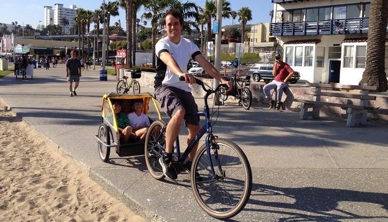 Passeios com as crianças em Los Angeles