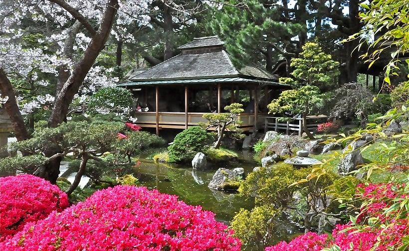 Japanese Tea Garden no Golden Gate Park