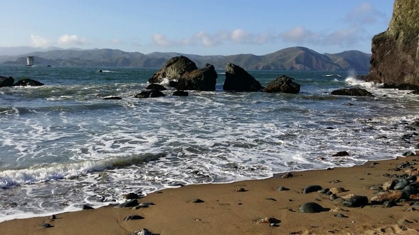 Lands End Beach em San Francisco