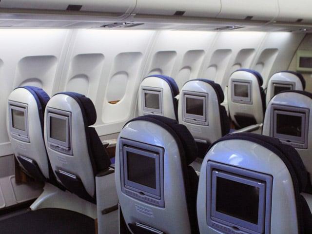 Aviões para viagens ao exterior