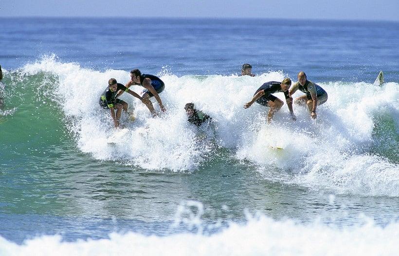 Praia Trestles para surfar em San Clemente