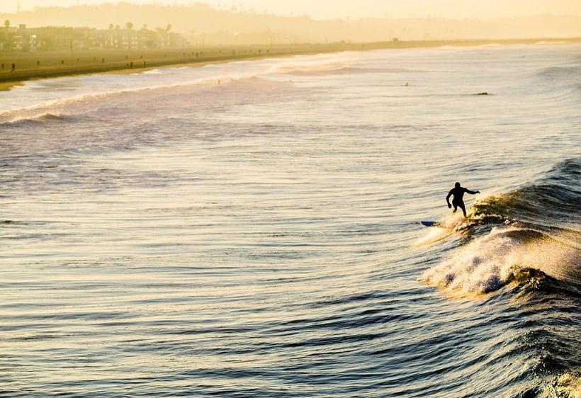 Venice Beach em Los Angeles na Califórnia